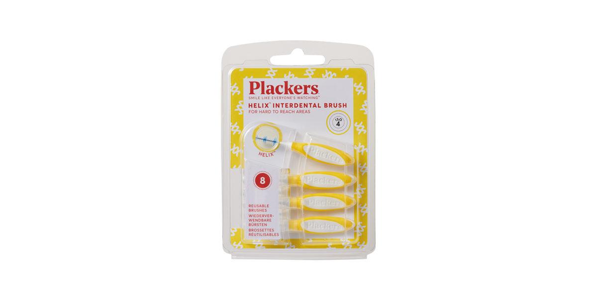 プラッカーズ・タフスパイラル 歯間ブラシ